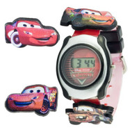 Disney Kids' CRS003 Cars Digital Interchangeable Sliding Cars Watch - EE679889
