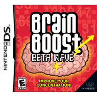Brain Boost: Beta Wave For Nintendo DS DSi 3DS 2DS Puzzle Games - EE680044