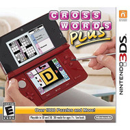 Crosswords Plus Nintendo For 3DS Puzzle - EE680055