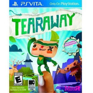 Tearaway For Ps Vita With Manual and Case - EE680061