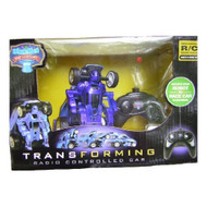 Transforming Robot To Race Car Remote Control Sold In Colors Red Or - EE680068