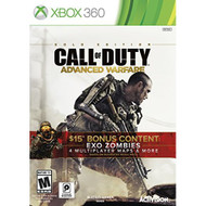 Call Of Duty: Advanced Warfare Gold Edition For Xbox 360 COD Shooter - EE680109