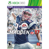 Madden NFL 17 Standard Edition For Xbox 360 Football - EE680108