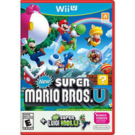 New Super Mario Bros U New Super Luigi U Wii U With Case - ZZ680379