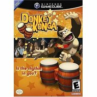 Donkey Konga Includes Bongos For GameCube Dolr Kge - EE680604