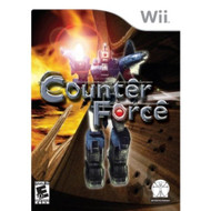 Counter Force For Wii Shooter With Manual and Case - EE680720