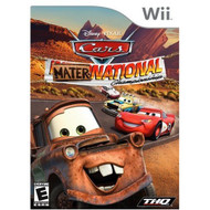 Cars: Mater-National For Wii Flight With Manual and Case - EE680736