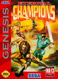Eternal Champions For Sega Genesis Vintage - EE680834