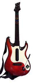 Guitar Hero Rock Band 5 White Red Octane Wireless Controller 95905.805 - EE680889