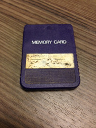 PlayStation Purple Generic Memory Card PS1 Expansion For PlayStation 1 - EE680980