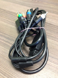PlayStation 3 Nintendo 64 Universal AV Cable Black LQR057 For Xbox 360 - EE681002
