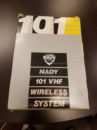 nady 101 vhf wireless system QZP672 - EE681129