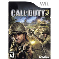 Call Of Duty 3 For Wii COD Shooter With Manual And Case - EE681224