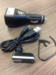 Iessentials IE-HFBLU-FP1 With USB Car Charger Black - EE682047