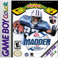 Madden NFL 2001 On Gameboy Color Football - EE682117