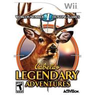 Cabela's Legendary Adventures For Wii Shooter - EE682423