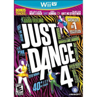Just Dance 4 For Wii U Music With Manual And Case - EE682721