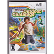 Active Life Outdoor Challenge Game Only For Wii Puzzle With Manual and - EE682796