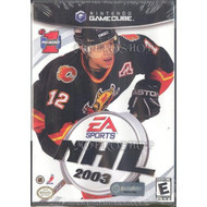NHL 2003 For GameCube Hockey With Manual and Case - EE683031
