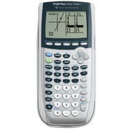 Texas Instruments TI-84 Plus Silver Viewscreen Calculator Handheld - ZZ683062