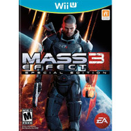 Mass Effect 3 For Wii U Fighting With Manual And Case - EE683232