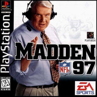 Madden NFL 97 PS1 For PlayStation 1 Football With Manual and Case - EE683245