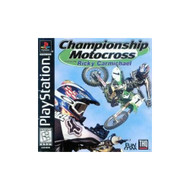 Championship Motocross For PlayStation 1 PS1 Racing With Manual and - EE683249