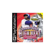 Sammy Sosa High Heat Baseball 2001 For PlayStation 1 PS1 - EE683272