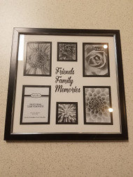Friends Family Memories Picture Frame 6 Slots Black LOQ652  - EE683309