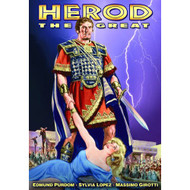 Herod The Great On DVD With Edmund Purdom - EE683503