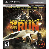 Need For Speed: The Run Limited Edition For Xbox 360 Flight - EE683538
