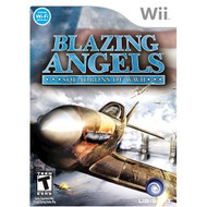 Blazing Angels: Squadrons Of WWII For Wii Flight With Manual And Case - EE683695