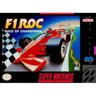 F-1 Roc Nintendo Super NES For Super Nintendo SNES Racing - EE683969
