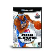 NBA Live 2005 For GameCube Basketball - EE684076