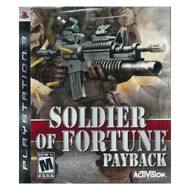 Soldier Of Fortune Payback For PlayStation 3 PS3 - EE684106