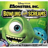Bowling For Screams Monsters Inc Software Disney - EE684121