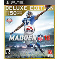 Madden NFL 16 Deluxe Edition For PlayStation 3 PS3 Football - EE684176