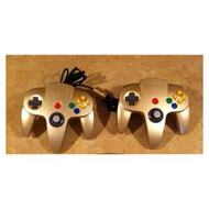 Nintendo 64 Controller Gold Limited Edition For N64 - EE684428