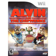 Alvin And The Chipmunks For Wii With Manual and Case - EE684566