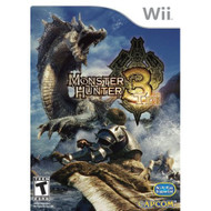 Monster Hunter Tri Standard For Wii RPG With Manual And Case - EE684594