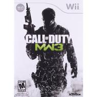 Call Of Duty: Modern Warfare 3 For Wii COD Shooter - EE684608