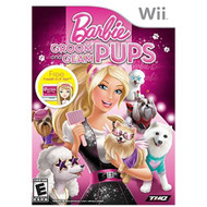 Barbie Groom And Glam Pups For Wii With Manual and Case - EE684907