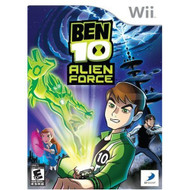 Ben 10 Alien Force For Wii With Manual And Case - EE684949