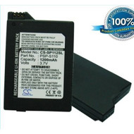 1200MAH PSP-S110 Battery Sony PlayStation Silm PSP-3000 PSP-3004 By - ZZ685091