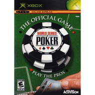 World Series Of Poker Xbox For Xbox Original With Manual And Case - EE685258