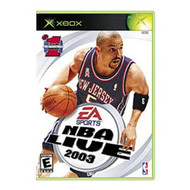 NBA Live 2003 Xbox For Xbox Original Basketball With Manual and Case - EE685302