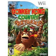 Donkey Kong Country Returns For Wii With Manual and Case - EE685451