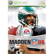 Madden NFL 2006 For Xbox 360 Football - EE685554
