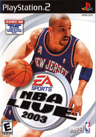 NBA Live 2003 For PlayStation 2 PS2 Basketball With Manual And Case - EE685573