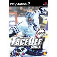 NHL Faceoff 2001 For PlayStation 2 PS2 Hockey With Manual and Case - EE685585